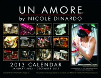 This artistic calendar cover meets our criteria for the wow-factor. What a