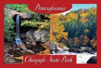 With its stunning scenery and breathtaking waterfalls, it's no wonder that Ohiopyle state park is one of Pennsylvania's most visited state parks.