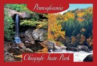 Ohiopyle state park postcard