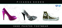 Designer shoe promotional idea